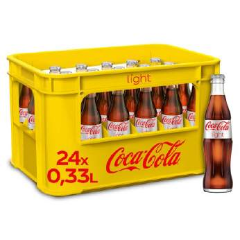 Coca Cola light 24/0,33 Ltr. MEHRWEG