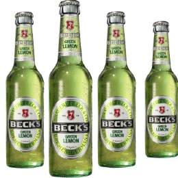 Beck´s Bier Green Lemon 24/0,33 Ltr. MEHRWEG