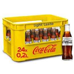 Coca Cola LIGHT 24/0,2 Ltr. MEHRWEG