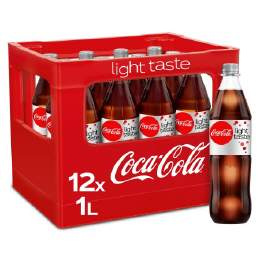 Coca Cola LIGHT 12/1 Ltr. MEHRWEG