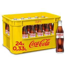 Coca Cola light Lemon plus C 12/1 Ltr. MEHRWEG
