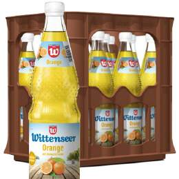Wittenseer Limonade Orange 12/0,7 Ltr. MEHRWEG