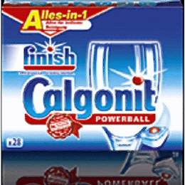 Finish/Calgonit Alles in 1 Powerball 60er